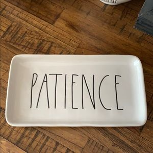 Rae Dunn Patience tray New